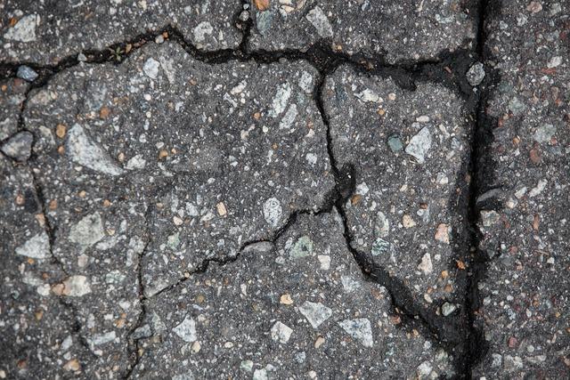 Pavement cement road, transportation traffic.