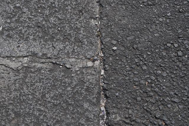 Pavement road texture, transportation traffic.