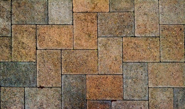 Pavement stone sidewalk, backgrounds textures.