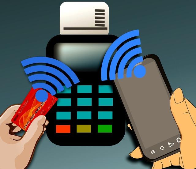 Payment systems nfc near field communication wireless, business finance.
