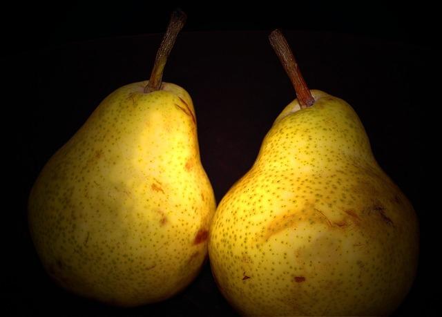 Pears fruit sweet, food drink.