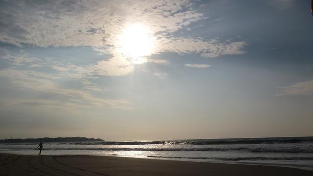 Pedernales ecuador beach, travel vacation.