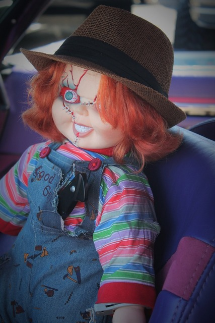 Pediophobia halloween doll haunted doll, emotions.