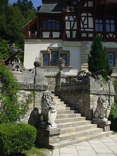 Peles palace castle.