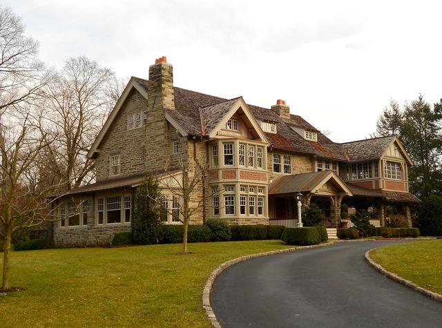 Pensylvania historic district house, architecture buildings.