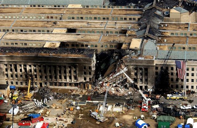 Pentagon stop 11 september.