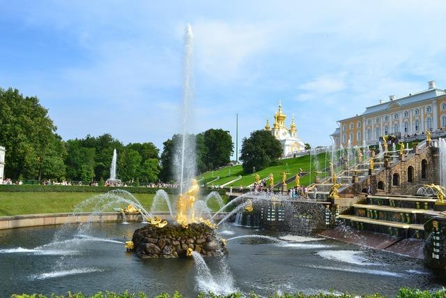 Peterhof russia petrodvorets.