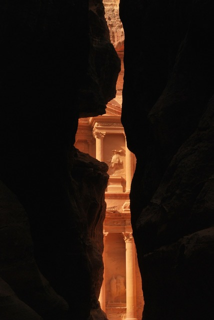 Petra jordan wonder of the world.