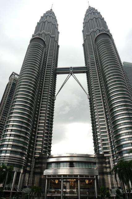 Petronas towers kuala lumpur malaysia, architecture buildings.