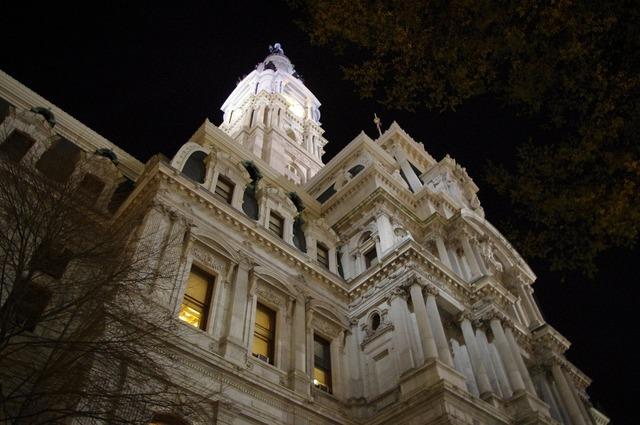 Philadelphia city hall building, architecture buildings.