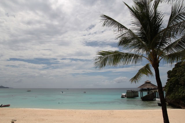 Philippine lotto central beach long beach island, travel vacation.