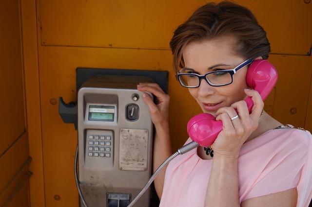 Phone woman beauty, computer communication.