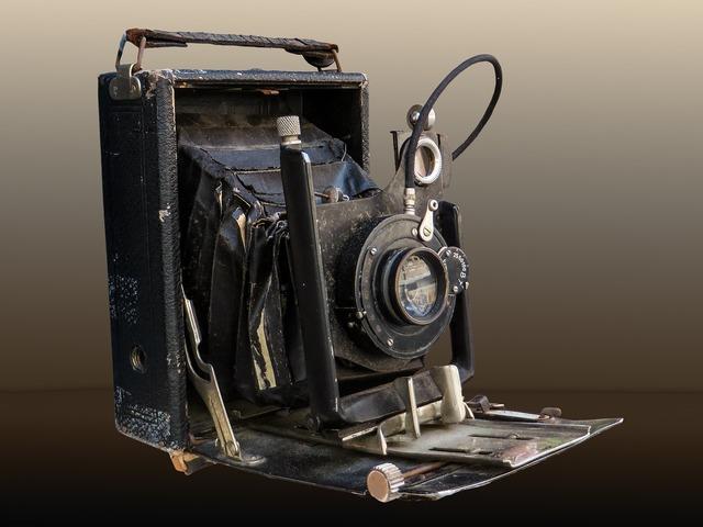 Photo camera old.