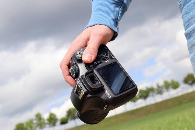 Photo camera photography, nature landscapes.