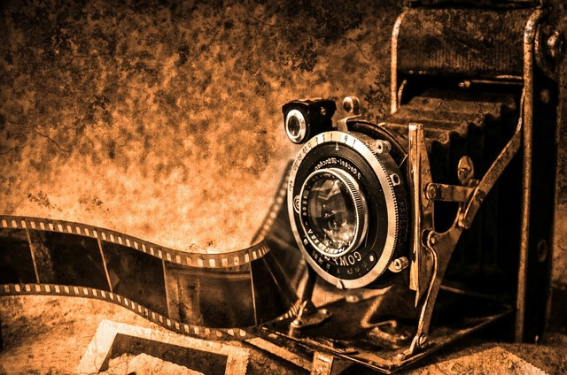 Photo camera photography old, places monuments.