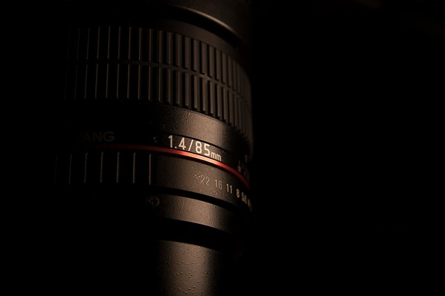 Photo lens objective lens, science technology.