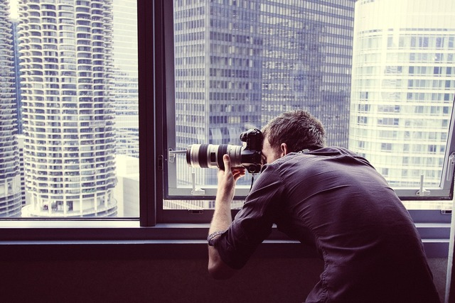 Photographer photography window.