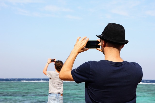 Photographer series beach, travel vacation.