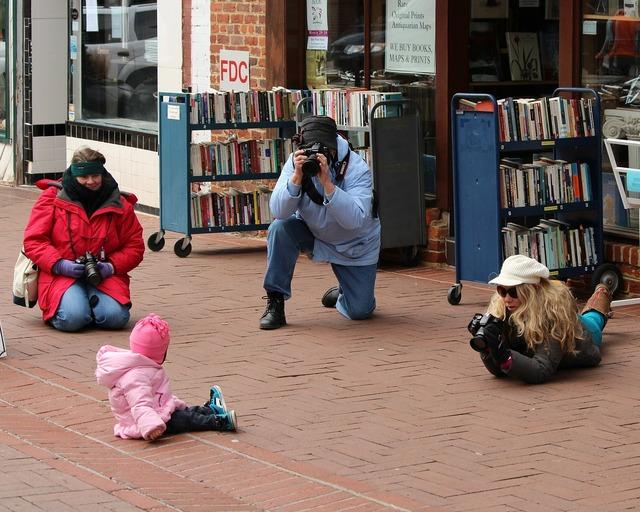 Photographers model child, people.