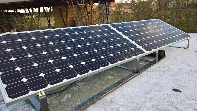 Photovoltaic solar power solar module, science technology.