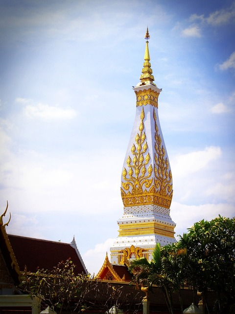 Phra that wat phra, places monuments.