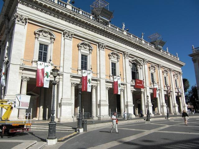 Piazza del campidoglio rome italy, architecture buildings.