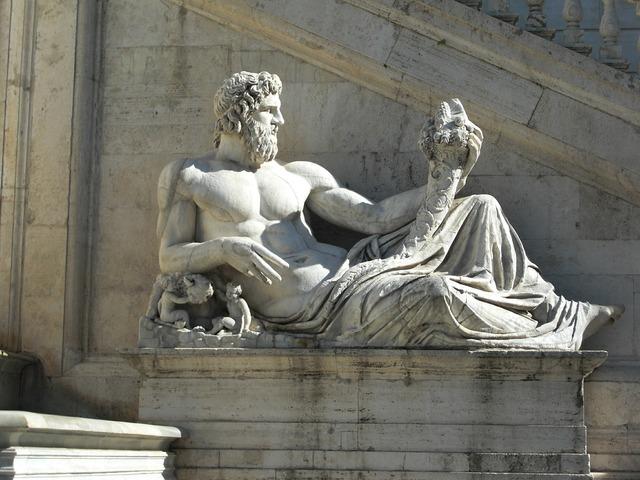 Piazza del campidoglio statue monument, architecture buildings.
