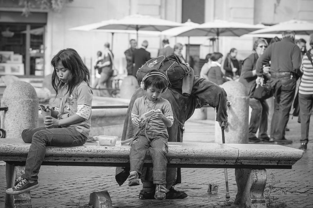 Piazza navona rome italy, transportation traffic.