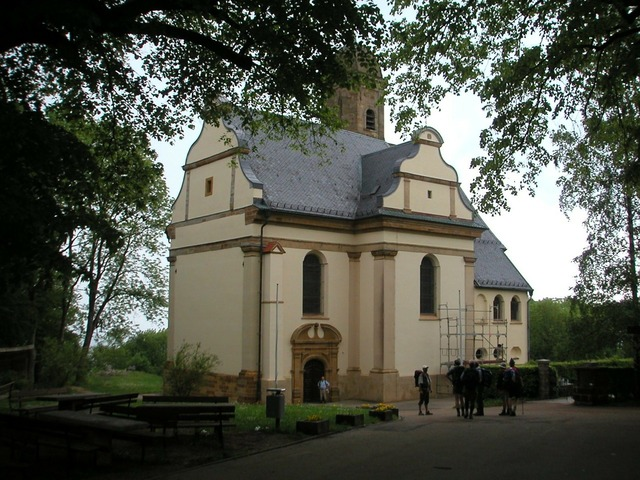 Pilgrimage church of st mary st mary's church hohenrechberg.