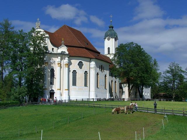Pilgrimage church of wies pilgrimage church bavaria.