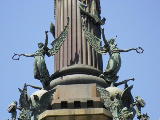 Pillar barcelona columnar base.