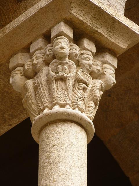 Pillar head heads.