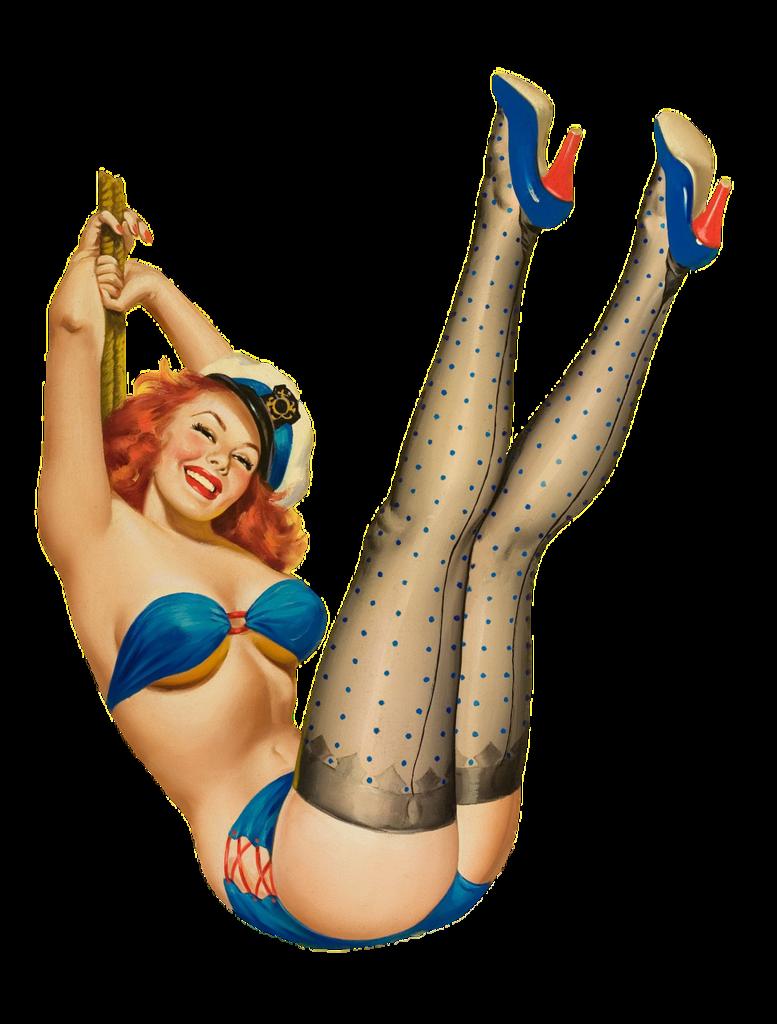 Pin Up Girl Erotic Woman Beauty Fashion