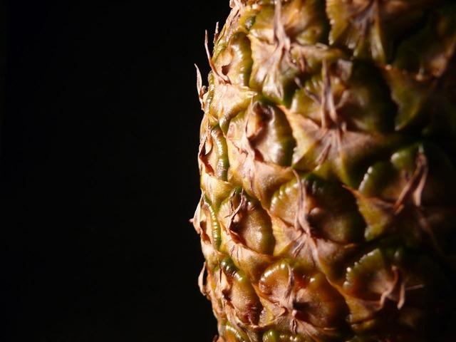 Pineapple fruit exotic, food drink.