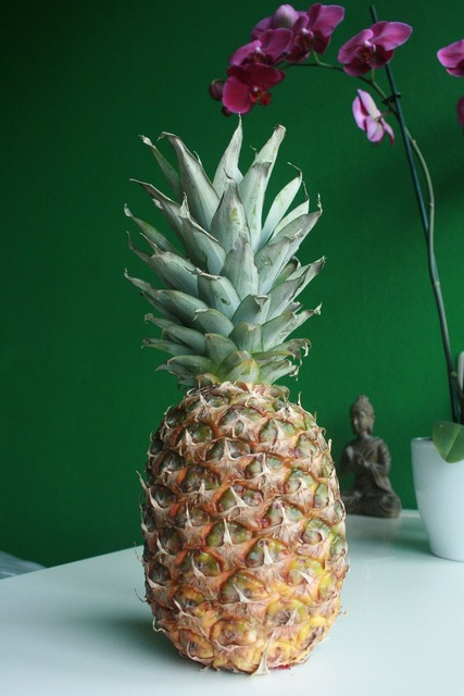 Pineapple fruit healthy, food drink.