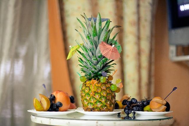 Pineapple fruit sweet, food drink.