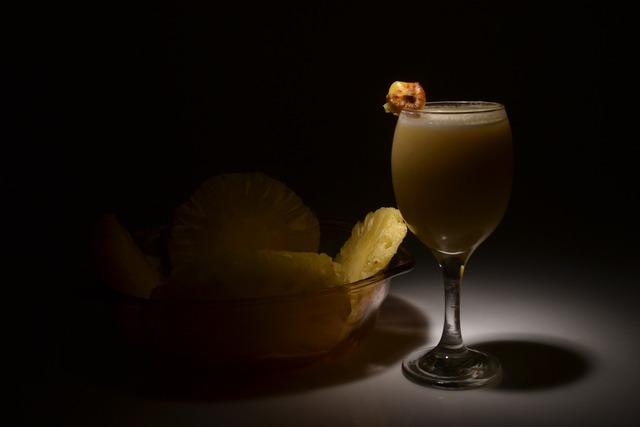 Pineapple pina colada fruit, food drink.