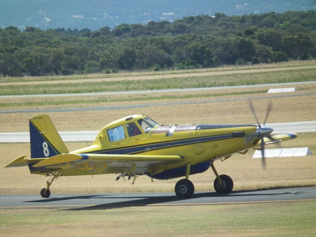 Piper pa-28-161 water-bomber.