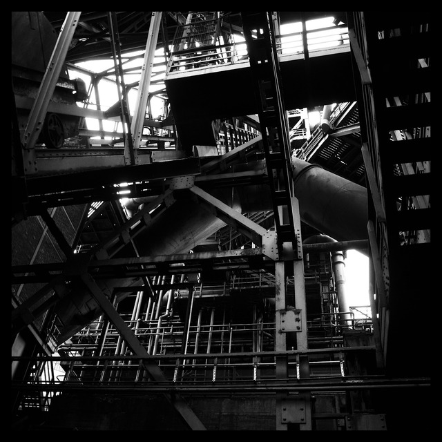 Pipes factory industry, industry craft.