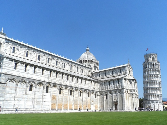 Pisa italy cathedral, architecture buildings.