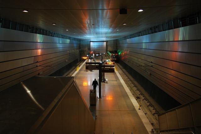 Pittsburgh pennsylvania metro station, transportation traffic.