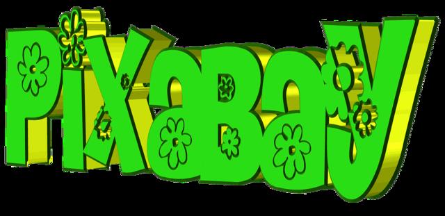Pixabay image database lettering.