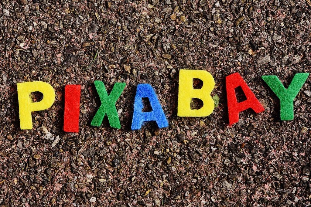 Pixabay image database letters.