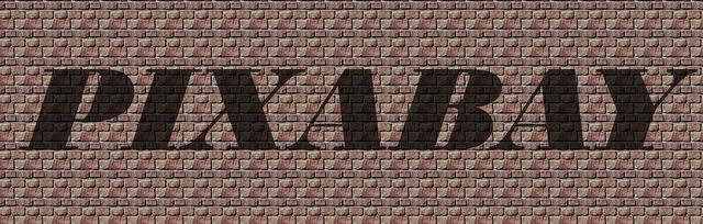 Pixabay word font.