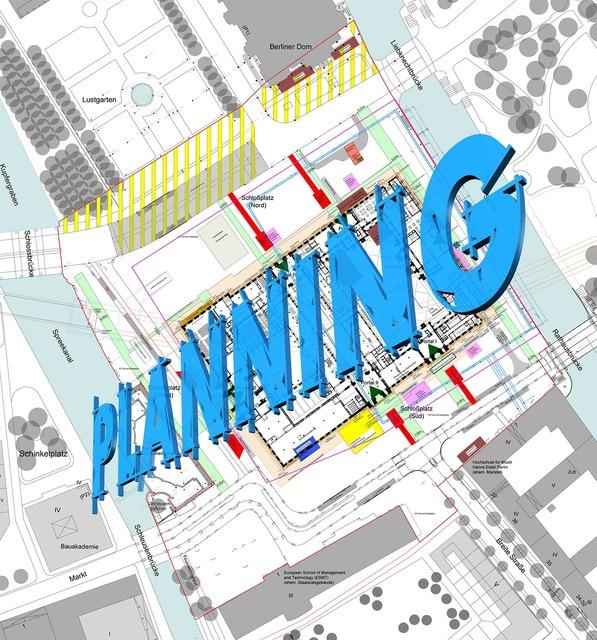 Plan sketch city, architecture buildings.