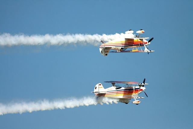 Plane airplane biplane.