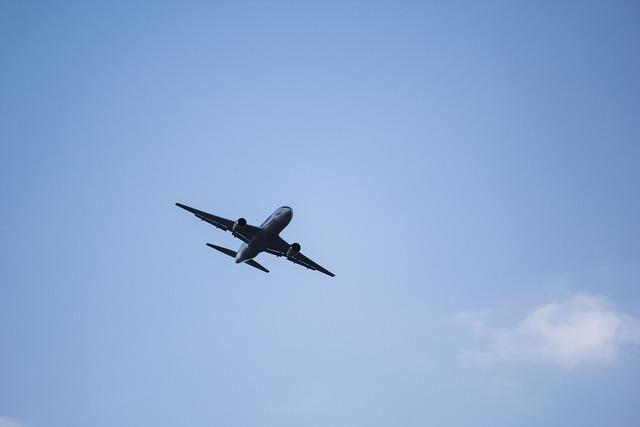 Plane landing take off.