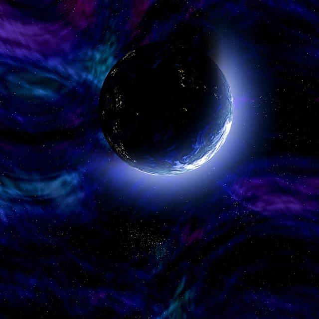 Planet solar system universe.