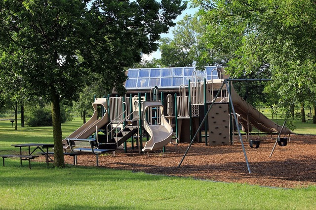 Playground recreational area usa.