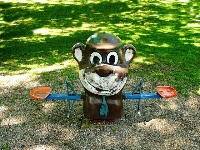 Playground yogi bear.